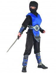 Sininen ninja-asu lapselle