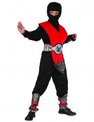 Punainen ninja-asu lapsille