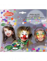 Lasten maskeeraussetti - 6 väriä