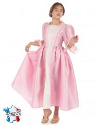Vaaleanpunainen prinsessa-asu lapsille luksus