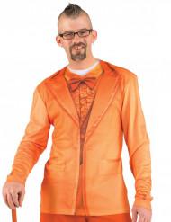 Oranssi puvuntakki -paita aikuiselle