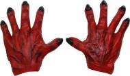 Punaiset hirviön kädet aikuiselle