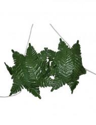 Naisten Havaiji-tyyliset rintaliivit vihreillä lehtikoristeilla