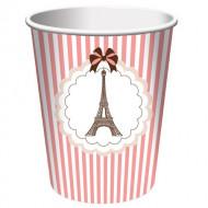 8 Eiffel-torni pahvimukia