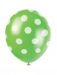 Pilkullinen pallo vihreä 6kpl