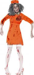 Vangin/zombin naamiaisasu naiselle