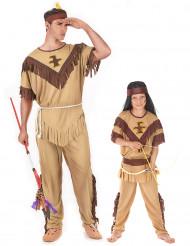 Intiaani- naamiaisasusetti isälle ja pojalle