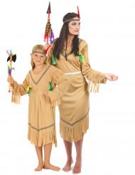 Intiaani- pariasu äidille ja tyttärelle