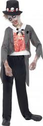 Zombiesulhasen naamiaisasu lapselle halloweeniin