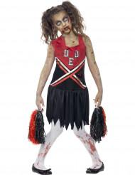 Cheerleader zombien naamiaisasu tytölle