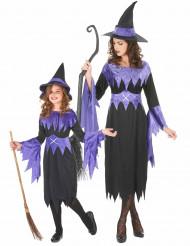 Violetit halloween-noidat pariasu äidille ja tytölle