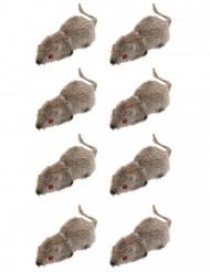 8 hiirtä