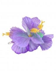 Havaijilainen hiuskoriste violetinvärisillä kukilla