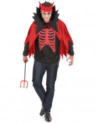 Miesten Punainen paholainen Halloween asu