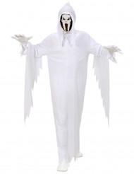 Kummitus Halloween-asu aikuisille