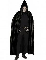 Musta hupullinen viitta aikuisille - Halloween