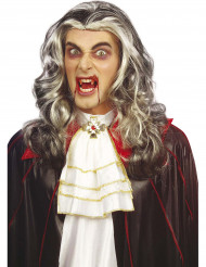 Aikuisten kaksivärinen vampyyrin peruukki