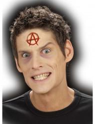 Aikuisten Halloween haava symbolin muotoinen