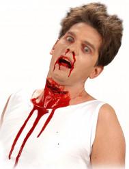 Aikuisten Halloween-maskeerauspakkaus - sis. halkaistun kurkun tekohaavan