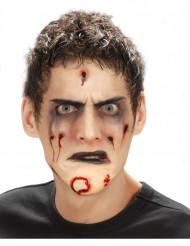 Zombien tekoleuka aikuiselle halloween