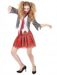 Naisten zombi/koulutyttöasu