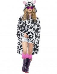Aikuisen lehmäponcho