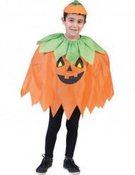 Halloweenin kurpitsaponcho lapselle