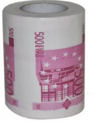 Wc-paperi, 500 euron seteli