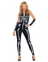 Naisten seksikäs Halloweenluurankoasu