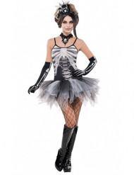 Viettelevä luuranko Halloween-asu naisille