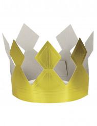 Kuninkaan kruunu pahvista