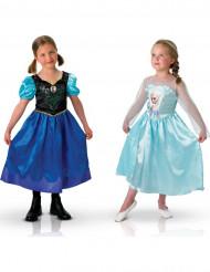 Lasten Frozen™-naamiaisasusetti - sis. Annan ja Elsan naamiaisasut