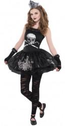 Synkkä ballerina Halloween asu nuorille