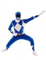 Morphsuits™ sininen Power Rangers™ -asu aikuisille