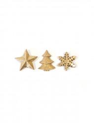 Kullanhohtoiset joulukoristeet