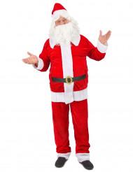 Miesten Premium-naamiaisasu joulupukki