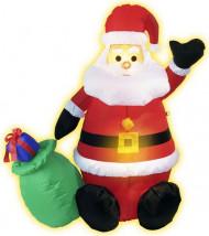Puhallettava Joulupukki valolla