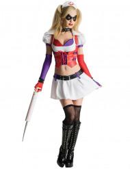 Naisten sairaanhoitajan naamiaisasu Harley Quinn - Batman: Arkham City™