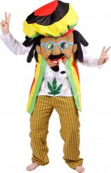 Aikuisten naamiaisasu Rastafari
