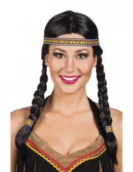 Naisten alkuperäisasukkaan peruukki