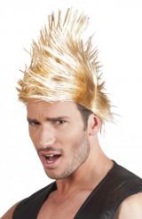 Vaalea punkkariperuukki miehille