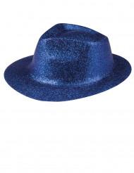 Sininen paljettihattu