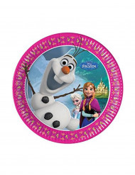 Frozen™-pahvilautaset, 8 kpl