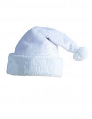 Aikuisten valkoinen joulupukin hattu