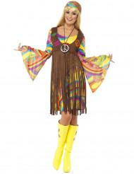 Onnellinen Anni - Värikäs hippimekko