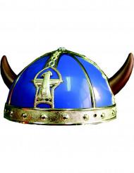 Viikinkikypärä sinikultainen