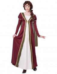 Keskiaikainen linnanneito -asu naisille