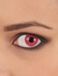 Fuksianpunaiset piilolinssit aikuiselle