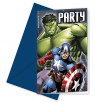 Kutsukortti 6kpl Avengers™