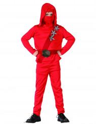 Punainen varjosotilas - Ninja-asu lapsille